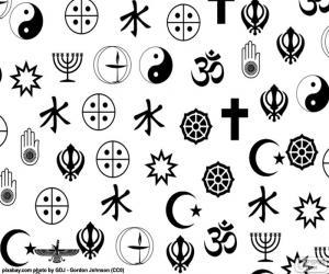 Puzzle Symboles de religions