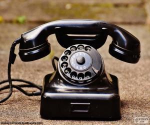 Puzzle Téléphone antique