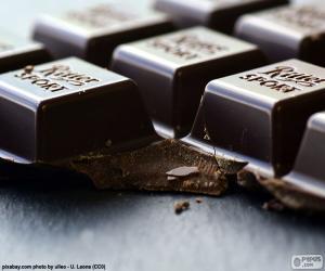 Puzzle Tablette de chocolat noir
