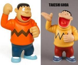 Puzzle Takeshi Goda connue par ses pairs comme Giant parce qu'il est un enfant grand et fort