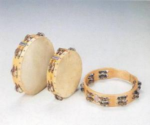 Puzzle Tambourin, instrument de percussion populaire et universel