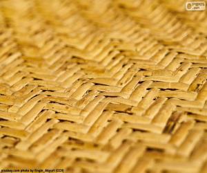 Puzzle Tapis en osier