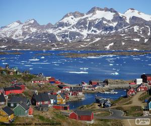 Puzzle Tasiilaq, Groenland