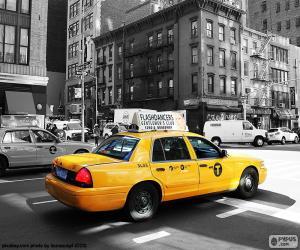 Puzzle Taxi de New York