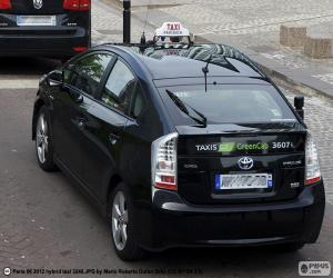 Puzzle Taxi de Paris