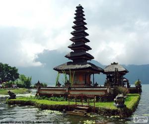 Puzzle Temple d'Ulun Danu Batur, Bali