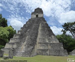 Puzzle Temple I de Tikal, Guatemala