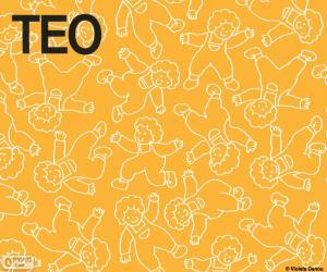 Puzzle Teo dans différentes positions