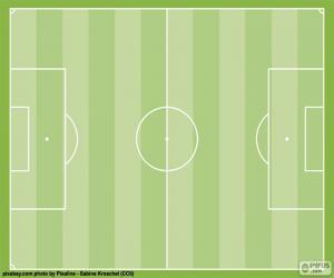 Puzzle Terrain de football