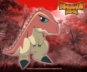 puzzle terry le tyrannosaure dtenu par ursula du gang alpha