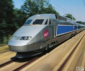 Puzzle TGV, France