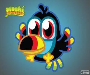Puzzle Tiki est un Moshlings, le Toucan. Série d'oiseaux