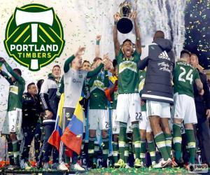 Puzzle Timbers de Portland, MLS 2015
