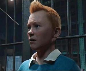 Puzzle Tintin, le célèbre personnage d'Hergé.