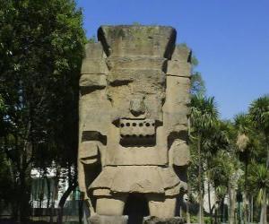 Puzzle Tlatoc, le dieu de la pluie et la fertilité, est enracinée dans la culture de Teootihuacan