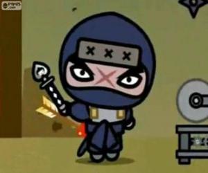 Puzzle Tobe, le méchant principal de Pucca qui essaie toujours de vengeance sur Garu