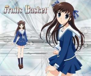Puzzle Tohru Honda est une lycéenne et le personnage principal de Fruits Basket