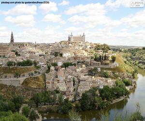 Puzzle Toledo, Espagne