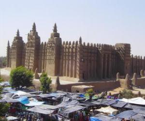 Puzzle Tombouctou (Mali)