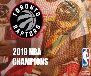 Puzzle Toronto Raptors, champions NBA 2019