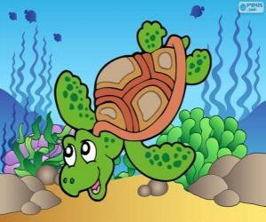 Puzzle Tortue marine