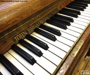 Puzzle Touches du piano classique