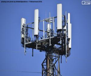 Puzzle Tour de télécommunications 5g
