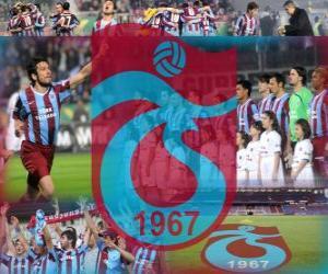Puzzle Trabzonspor AS, équipe de football turque