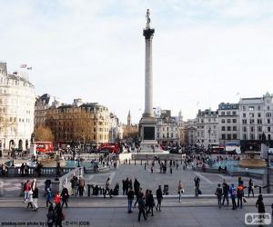 Puzzle Trafalgar Square, Londres