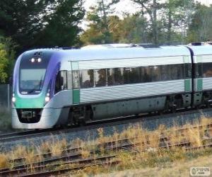 Puzzle Train du passager VLocity, Australie