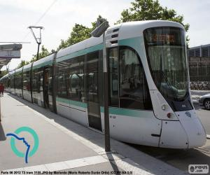 Puzzle Tramway d'Île-de-France (Paris)