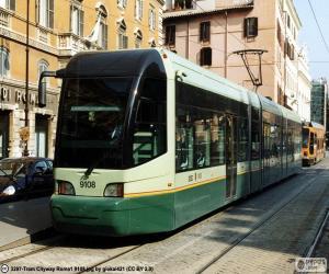 Puzzle Tramway de Rome