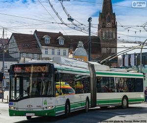 Puzzle Trolleybus