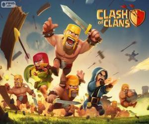 Puzzle Troupes, Clash of Clans