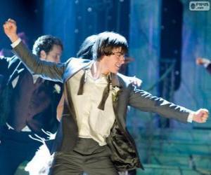 Puzzle Troy Bolton danse