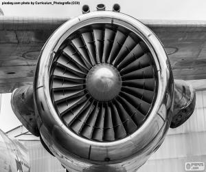 Puzzle Turbine d'avion