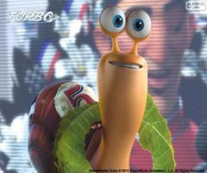 Puzzle Turbo, l'escargot de course