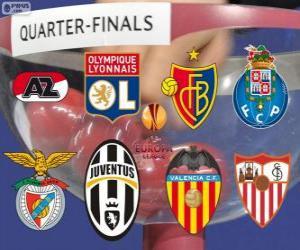 Puzzle UEFA Europa League 2013-14 Quarts de finale