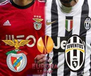 Puzzle UEFA Europa League, demi-finale 2013-14, Benfica - Joventus