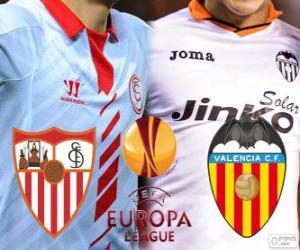 Puzzle UEFA Europa League, demi-finale 2013-14, Sevilla - Valencia