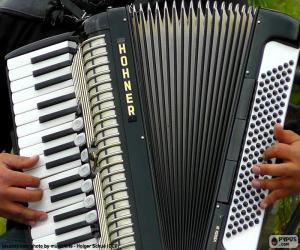 Puzzle Un accordéon