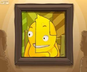 Puzzle Un autoportrait abstrait de Pypus