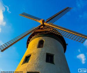 Puzzle Un beau moulin