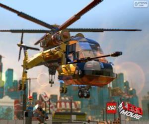 Puzzle Un hélicoptère du film Lego