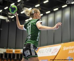 Puzzle Un handballeur