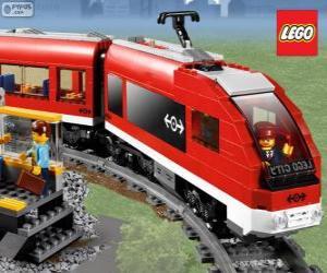 Puzzle Un train Lego