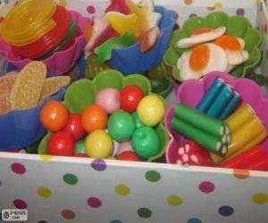 Puzzle Une boîte de bonbons
