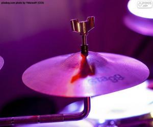 Puzzle Une cymbale de tambour