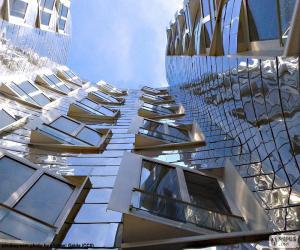 Puzzle Une façade de bâtiment moderne