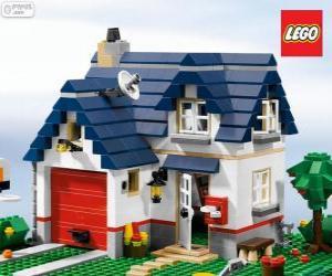 Puzzle Une maison de Lego